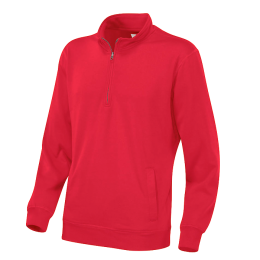 College Half-Zip Unisex, Cottover